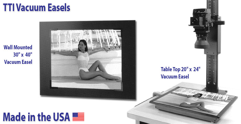 tti vacuum easel systems